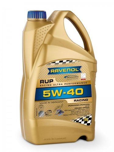 RAVENOL RUP Racing Ultra Performance SAE 5W-40 mit BMW LL04 Freigabe